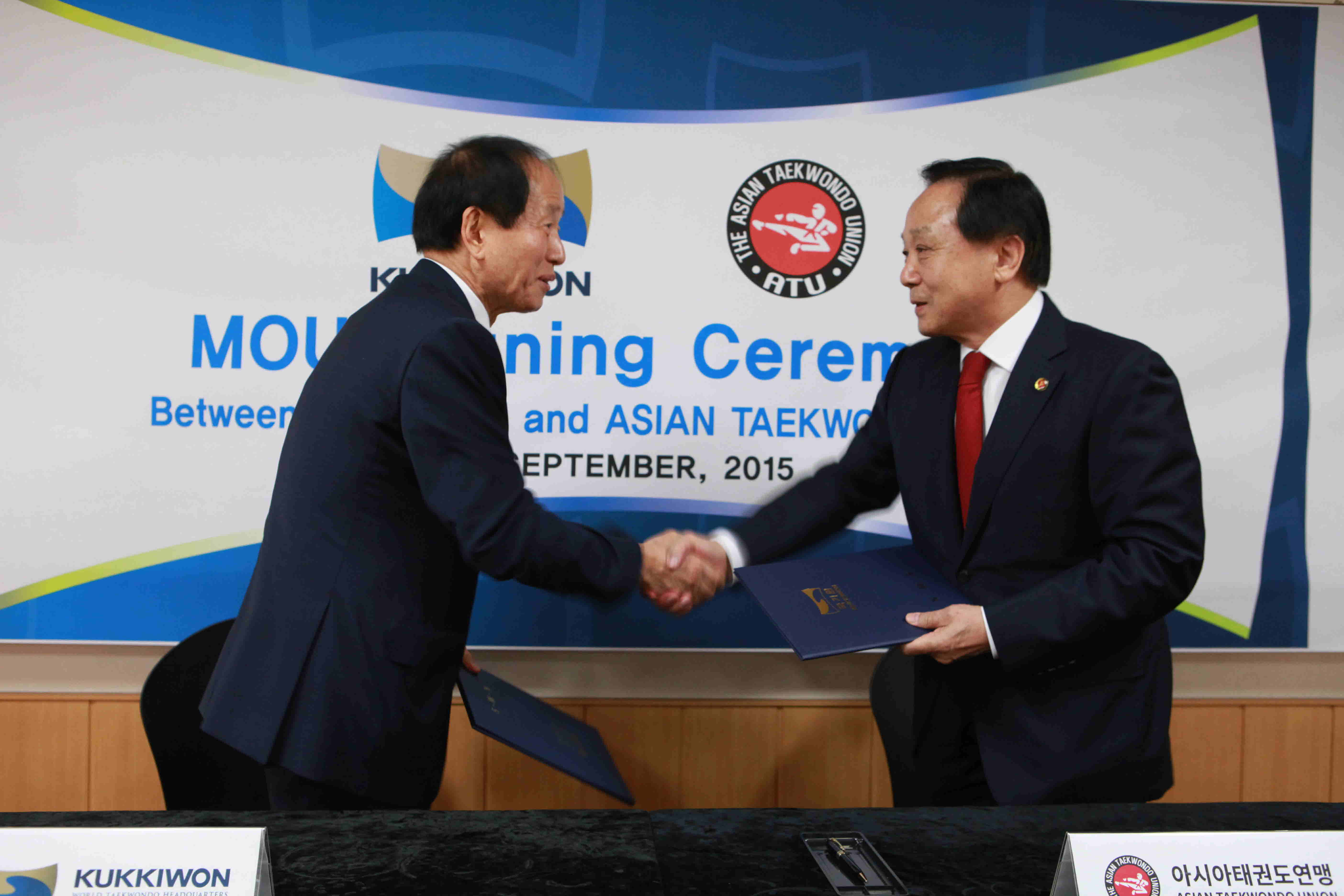 MOU with the Asian Taekwondo Union